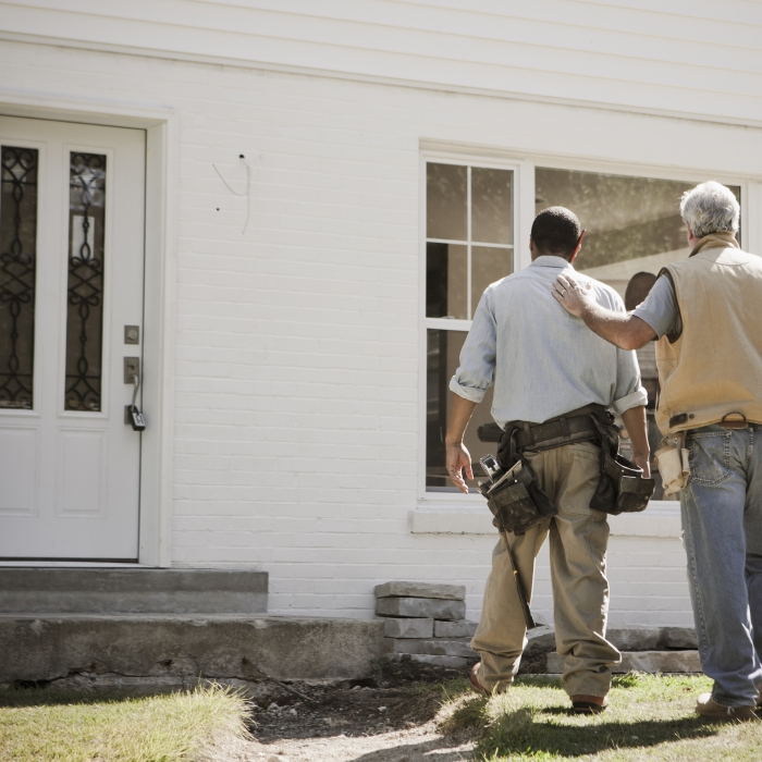 Home contractors pat on back
