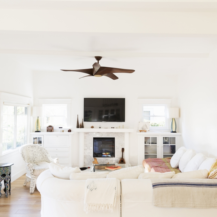 home ceiling fan in Living Room