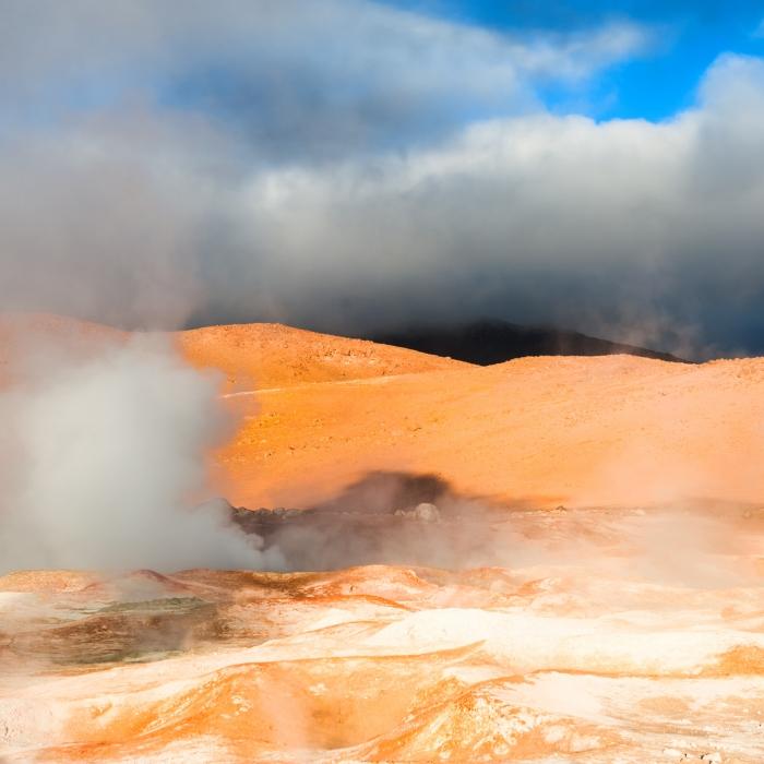 geothermal heat