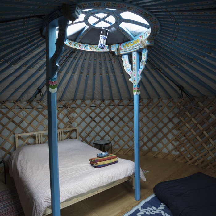 yurt skylight