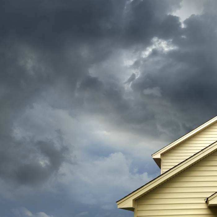 Roof withstands storm