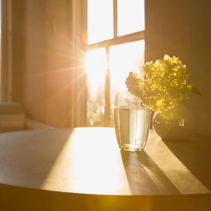 sunshine through new windows