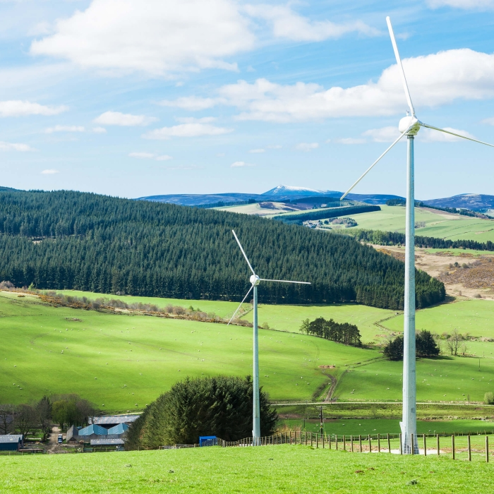 small-scale wind turbines